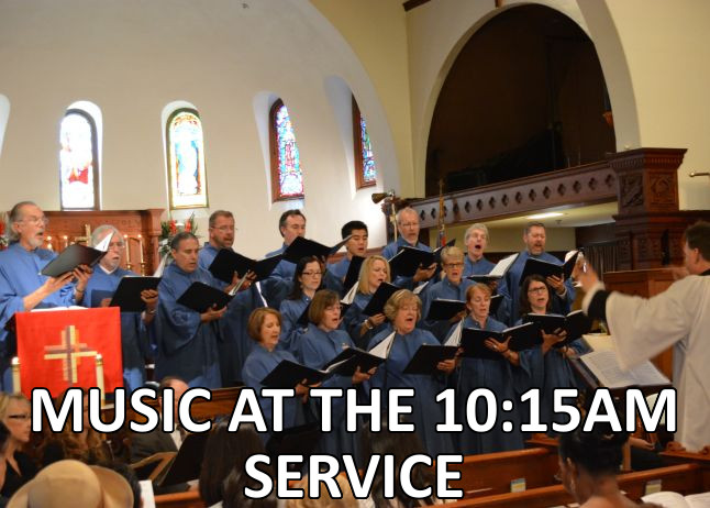 Music at the 10:15 Service