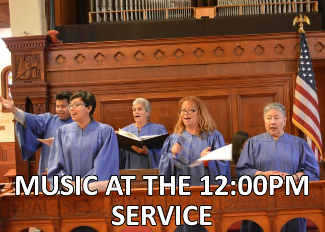 Music at the Noon Service